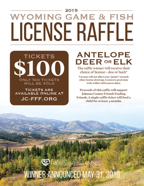 There's still time to get your raffle ticket for the Wyoming Game & Fish Commissioner's License!