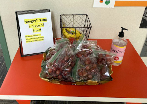 Snacks a big hit at local school